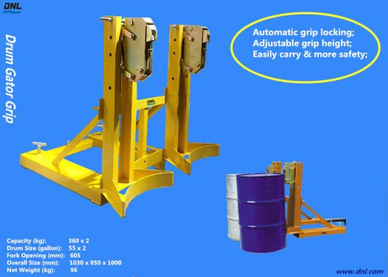 DNL is offering distinctive drum clamps with high-grade processing equipments.